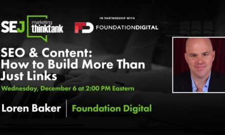 SEO & Content: How to Construct More Than Simply Links [Webinar]